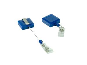 roller clip quadrado azul